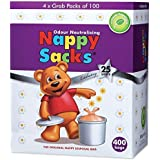 ICD Online Nappy Sacks The Orignal Nappy Disposal 400 Bags, 400 count