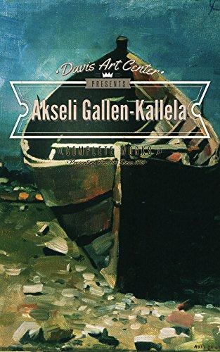 Akseli Gallen-Kallela: Collector's Edition Art Gallery (English Edition)