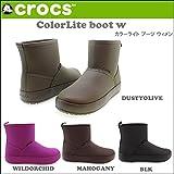 (クロックス)CROCS crs-055 ColorLite boot w カラーライト ブーツ ウィメン/ 16210 国内正規品 23cm WILDORCHID