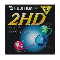 3.5インチ2HDフロッピーディスク10枚パック FUJIFILM MF2HD NK10P
