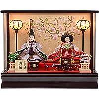 雛人形 アクリルケース 親王飾り ひな人形  No.306-89