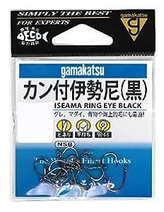 がまかつ(Gamakatsu) カン付伊勢尼(黒) 11号
