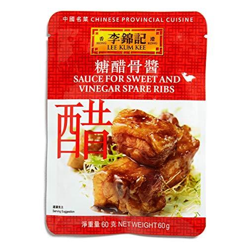 香港李錦記 黒酢酢豚のタレ (60g x 4パック)