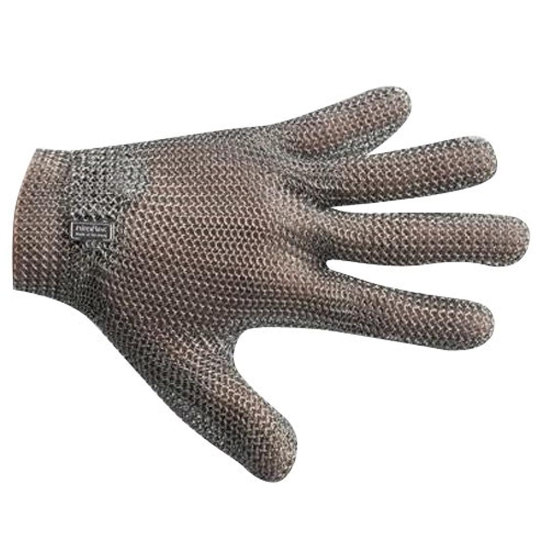 横たわるラグ版宇都宮製作 GU-2500 ステンレスメッシュ手袋 5本指(左右兼用) S