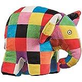 Elmer Elephant Soft ToyStuffed Plush Toy,24 x 10 x 17cm