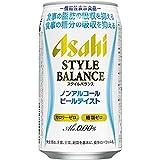 アサヒ スタイルバランス ノンアルコールビールテイスト (350ml×24本) × 2ケース
