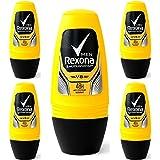 レクソーナ(男性用)制汗剤ロールオンタイプ 40ml 5個セット [並行輸入品][海外直送品] V8