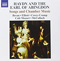 Earl of Abingdon: Songs & Chamber Music