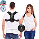 Posture Corrector for Women and Men - Adjustable Shoulder Support Brace - Back Straightener - Relief from Neck and Clavicle Pain - Helps Prevent Slouching and Hunching (Universal)