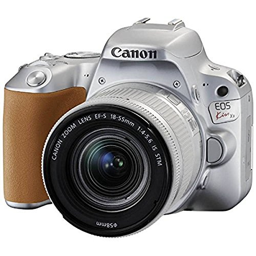 キヤノン CANON EOS Kiss X9(W)EF-S18-55 IS STM レンズキット(シルバー/デジタル一眼レフカメラ)