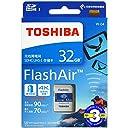 FlashAir 32GB 基本性能と無線転送速度が進化した最新世代東芝 TOSHIBA Wi-Fi SDHCカード 日本製【3年保証】 (32GB) 並行輸入品