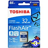 FlashAir 32GB 基本性能と無線転送速度が進化した最新世代東芝 TOSHIBA Wi-Fi SDHCカード 日本製【3年保証】 (32GB) [並行輸入品]