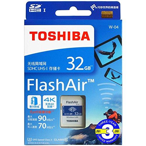 FlashAir 32GB 基本性能と無線転送速度が進化した...