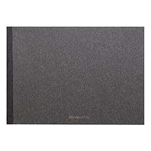新日本カレンダー 365notebook Pro A4 無地 8722 炭