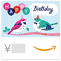 Amazonギフト券- Eメールタイプ - 誕生日(鳥)