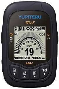 ユピテル(YUPITERU) アウトドア スポーツ用GPSレシーバー ATLAS ASG-1