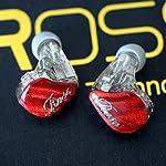 【国内正規品】ROSE 5BA搭載リケーブル対応カナル型イヤホン BR5 MK2 レッド BR5MK2-RD