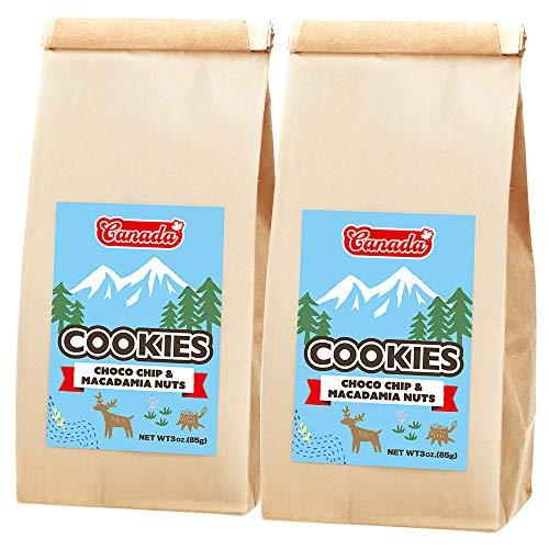 カナダ チョコチップ マカデミアナッツクッキー 2箱セット