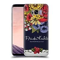 Official Frida Kahlo ブルーム レッド・フローラル ハードバックケース Samsung Galaxy S8+ / S8 Plus