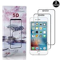【2枚セット】 iPhone 6 / 6S / 7 / 8 硬度9H フィルム CUNUS Apple iPhone 6 / 6S / 7 / 8 専用設計 強化ガラスフィルム 高透明度で 99%透過率 気泡防止 耐衝撃 超薄 液晶保護フィルム