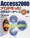 Access2000プロが作った!お手本データベース41選