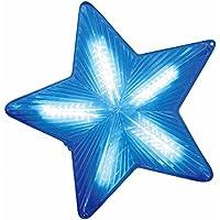 クリスマス 2Dタイプ LEDイルミネーション レンズシートスター40㎝ ブルー50球