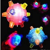 ychoice Lovely赤ちゃんおもちゃギフト子供フラッシュパズルおもちゃ音楽Jumping Ball Glowing Dancingボール