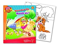 Small World Activity Books Mom and Me Match Us Science Kit [並行輸入品]