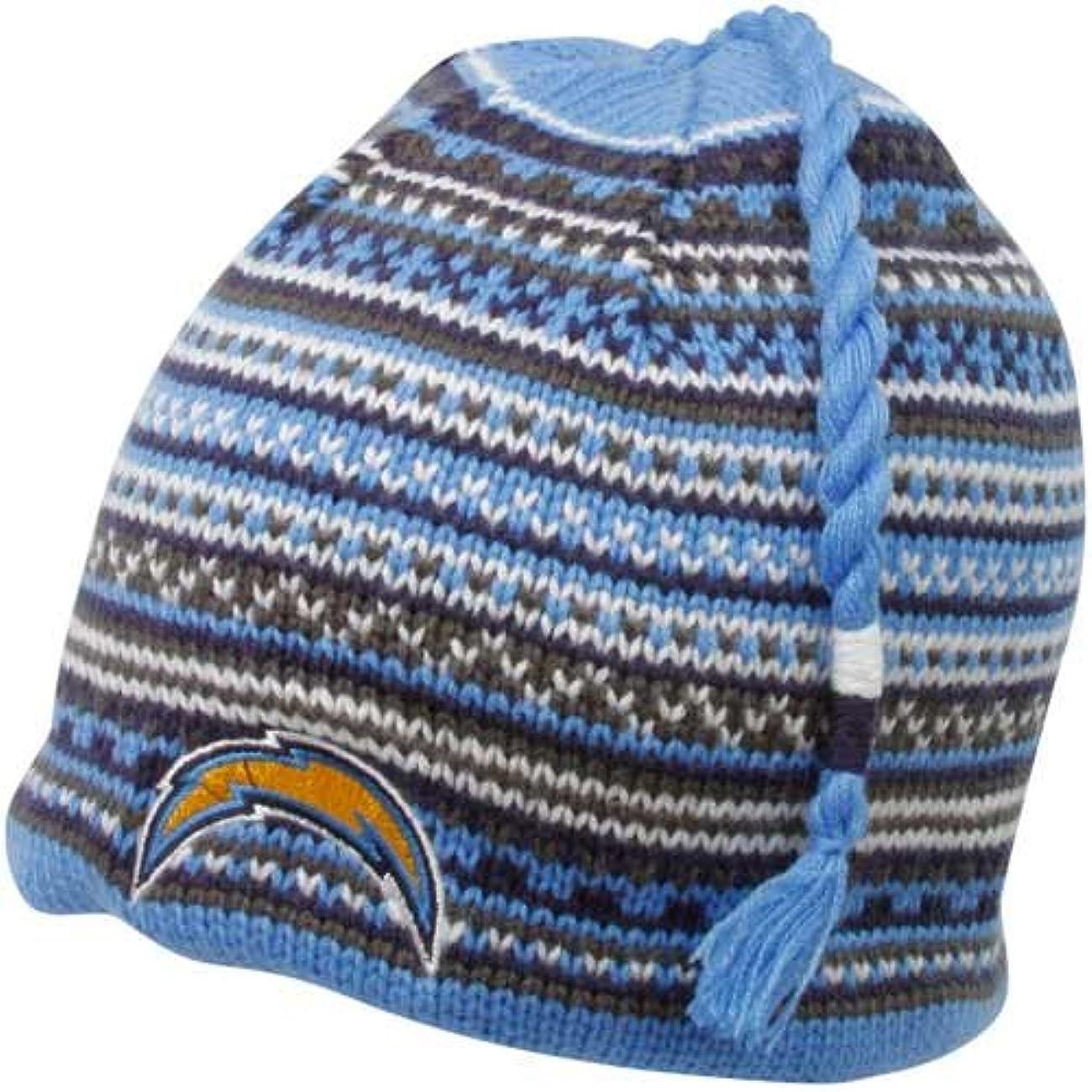 叫ぶハブピラミッドReebok San Diego Chargersタッセルニット帽子フリーサイズ