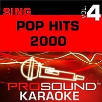 Sing Pop Hits 2000: Vol. 4 [CDG]