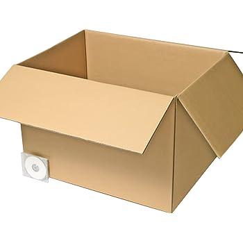 アースダンボール 段ボール箱 大型 宅配200サイズ 海外引越用 国際小包対応 2箱 内寸750×560×509 0084