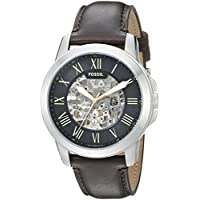 Fossil Men's ME3100 Analog Display Automatic Self Wind Brown Watch