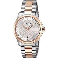 [グッチ]GUCCI 腕時計 Gタイムレス シルバー文字盤 YA126473 メンズ 【並行輸入品】