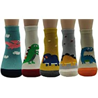JJMax Boys Dinosaur Socks Collections
