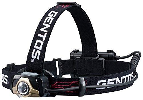 GENTOS(ジェントス) LED ヘッドライト USB充電式 【明るさ320ルーメン/実用点灯4.5時間/耐水】 GT-105R