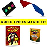 Magic Makers - Quick Tricks - Magic Kit with Everything You Need To Get Started