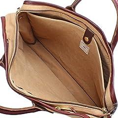 1R Briefcase: Tan