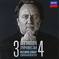 Beethoven: Symphonies Nos.3 & 4 by Gewandhausorchester Leipzig (2012-03-13)