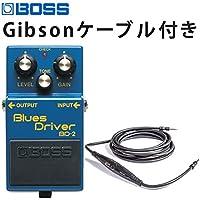 BOSS ブルースドライバー BD-2 Gibsonレコーダーケーブル付き