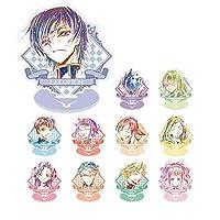コードギアス 反逆のルルーシュIII 皇道 トレーディング Ani-Art アクリルスタンド BOX商品 1BOX=11個入り、全11種類