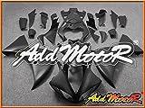 Addmotor オートバイ YZFR1 YZF-R1 YZF R1 2009 2010 2011 2009-2011 09-11 用 外装 フルカウルキット マット ブラック Y1959