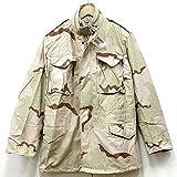 ノーブランド品 米軍 実物 M-65 フィールドジャケット 3Cカラーデザートカモ デッドストック