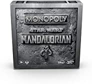 Hasbro Monopoly Star Wars The Mandalorian Edition Board Game,F1276
