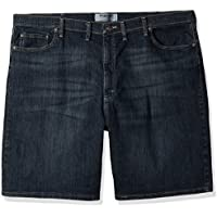 Wrangler Mens Big & Tall Classic Five Pocket Jean Short Denim Shorts - Blue