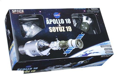 1:72 ドラゴンモデルズ エアロスペース プログラム 50370 ダイキャスト モデル アポロ 18/Soyuz 19 7月 1975 アポロ + Soyuz M【並行輸入品】