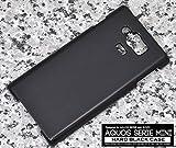 PLATA AQUOS SERIE mini SHV31 ケース カバー ハードケース アクオス セリエ ミニ 【 ブラック 黒 black 】