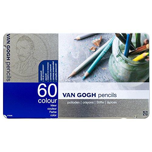 『ヴァンゴッホ油性色鉛筆60色セット』