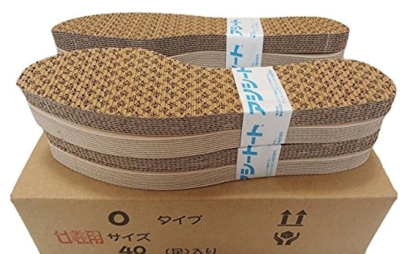歯科医乞食メロンお徳用タイプのアシートOタイプ40足入 (24.5~25cm 女性靴用)