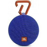 JBL CLIP2 Bluetoothスピーカー IPX7防水/パッシブラジエーター搭載/ポータブル/カラビナ付 ブルー JBLCLIP2BLUE 【国内正規品】