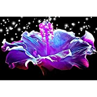 huaiqinG - 5D DIYフルドリルダイヤモンド塗装クロスステッチモザイククラフトキット(Flower04)